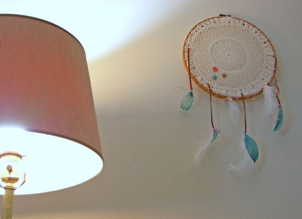 DIY Doily Dreamcatcher
