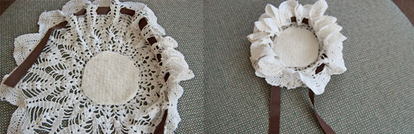 DIY Doily Gift Pouch