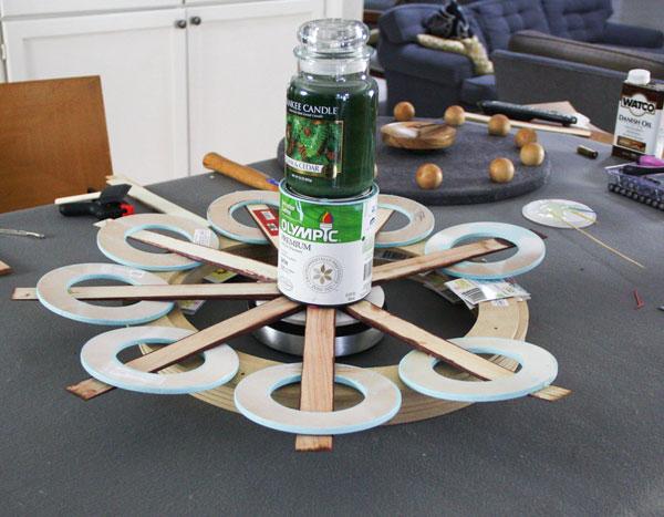 Assembling a repurposed clock