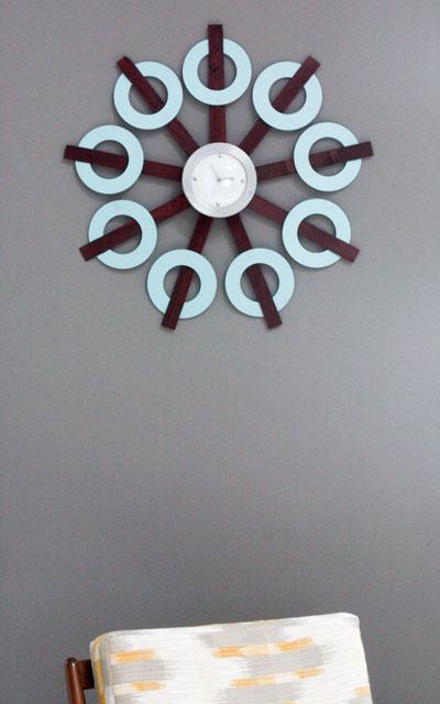 Repurposed Goodwill clock