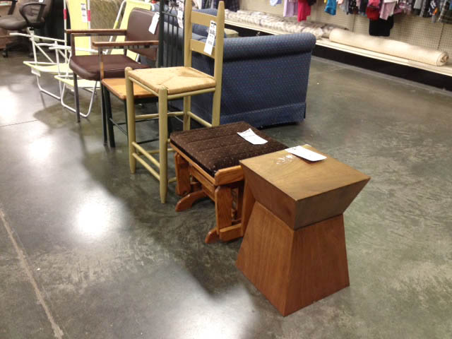 Tables at Goodwill