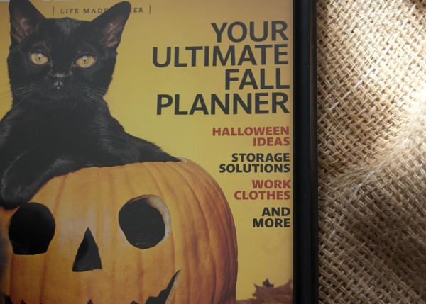 Halloween-themed magazine