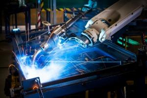 Robotic arm welding I