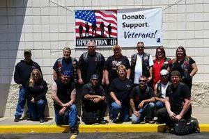 Vets Donation Drive 200